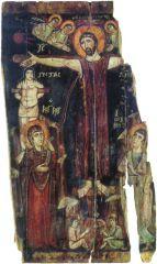 Икона Распятие. Синайский монастырь. 7-8 век.