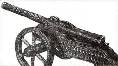 Пищаль с «витым» стволом. Бронза. Литейный мастер Яков Осипов. 1671 г.