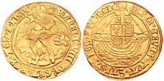 Нобли Генриха VIII c Архангелом Михаилом убивающим дракона.