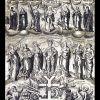 ГРАВЮРА В ЧЕСТЬ ГЕТМАНА ИВАНА МАЗЕПЫ С ИЗОБРАЖЕНИЕМ ЦЕРКВЕЙ (И.Мигура)