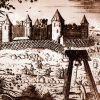 Крепость Ям. Гравюра из книги А.Олеария. 1634.