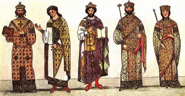 Одеяние императоров Византии