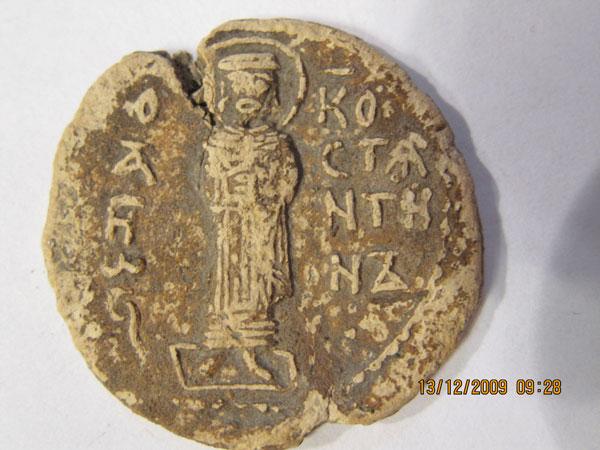 Печать с изображением Дмитрия и Константина (1-я ч.)