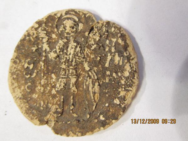 Печать  с изображением Дмитрия и Константина (2-я ч.)