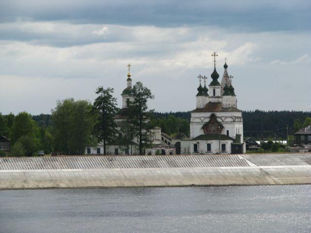 Великий Устюг. Церковь Дмитрия Солунского (1700-1708).