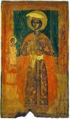 Вмч. Димитрий Солунский. Икона. Кон. XVI в. (Музей икон, Рекклингхаузен)