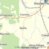 Город Русиновца на реке Старица в окрестностях Косово Поля.