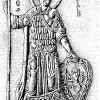 Святой Георгий. Рельеф на портале Георгиевского собора в Юрьеве-Польском.