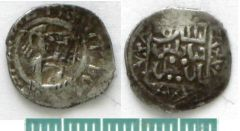 Монета Дмитрия Ивановича с надписью Султан Мухаммед.