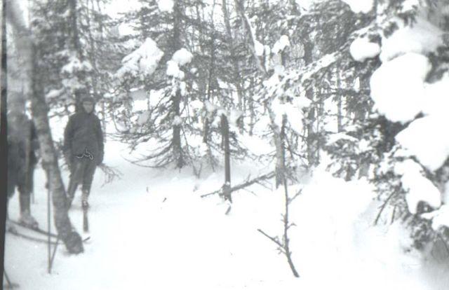Лабаз группы Дятлова, фото предположительно сделана журналистом Яровым (Кособрюховым)