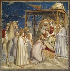 Giotto Di Bondone (около 1267 €- 1337). Картина маслом