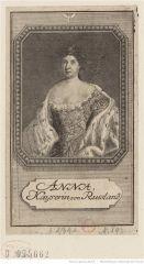 Анна Иоанновна. Французская Национальная Библиотека